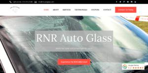 RNR Auto Glass Website Odd Duck Media