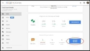 San Antonio Website Design SEO Google My Business Odd Duck Media